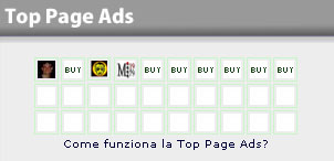 Top Page Ads